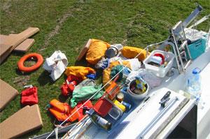 Inventaire du bateau hiver 2006