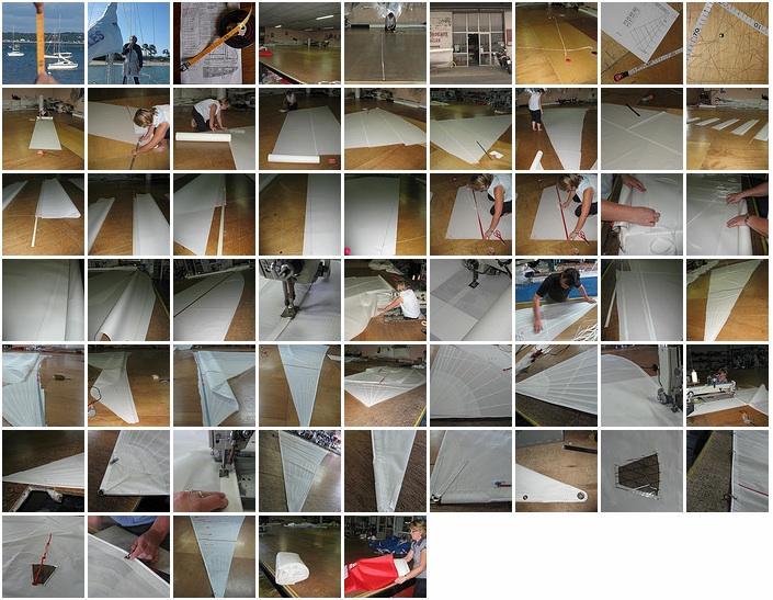 L'album photo du projet génois bordeaux voiles