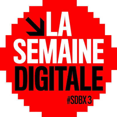 Le logo de la semaine digitale de Bordeaux 2013