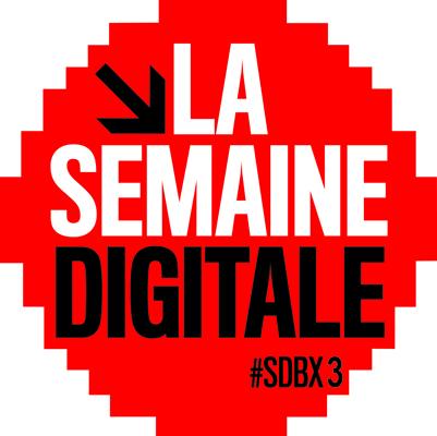 Le logo de la semaine digitale de Bordeaux 2013