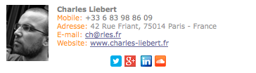 La signature de mon ami Charles http://www.charles-liebert.fr/