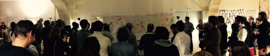 Du monde au Rebootcamp 2014 d'Aquinum - photo par Sylvaine Braconnier