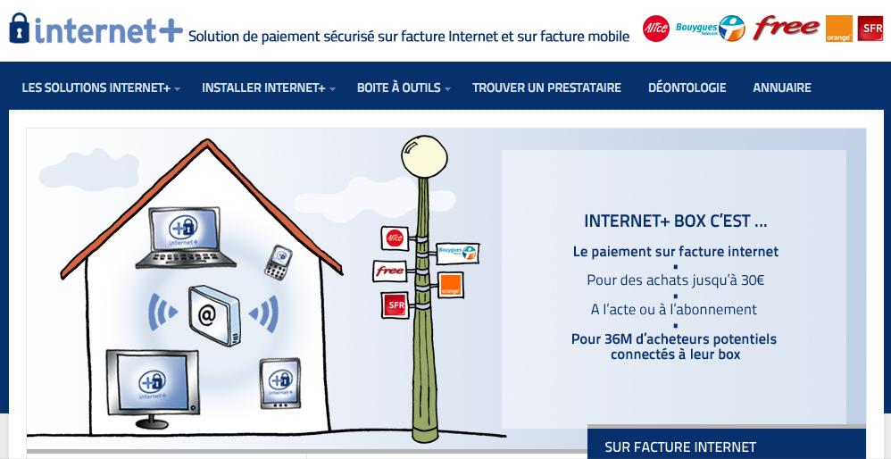 Visitez le site http://internetplus.fr/ Très instructif...