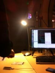 Le dispositif de démo de lampe torche magique de l'INRIA