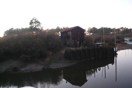 Cabane sur la canelette de la Hume