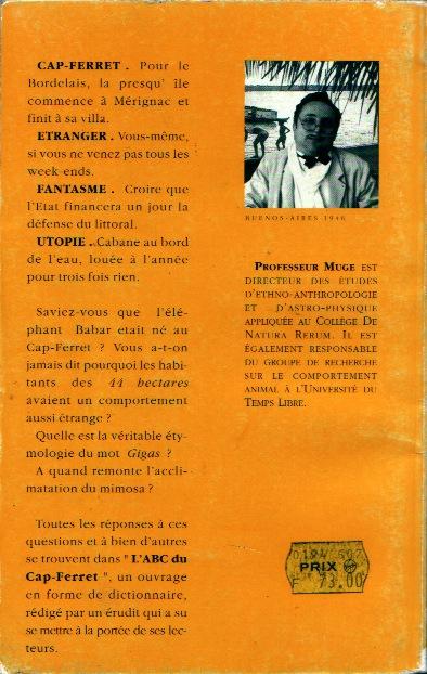 L'ABC du Cap-Ferret - 4e de couve