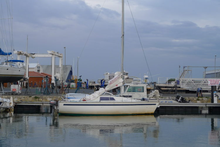 Iboga au ponton, port d'Arcachon