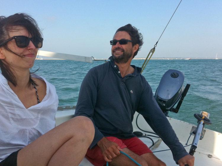 Julie et Jacques cap vers Arguin