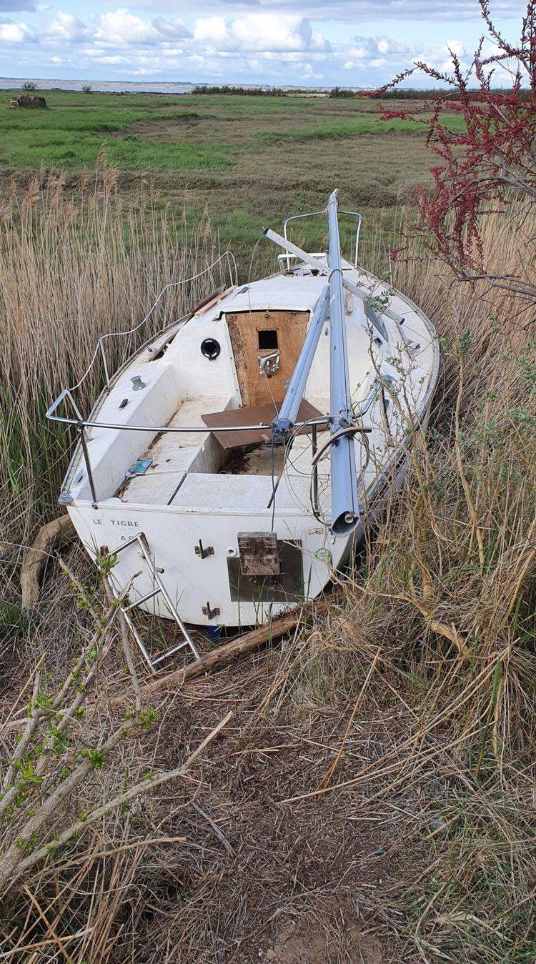 680 Le Tigre naufragé au Lycée de la Mer mars 2021