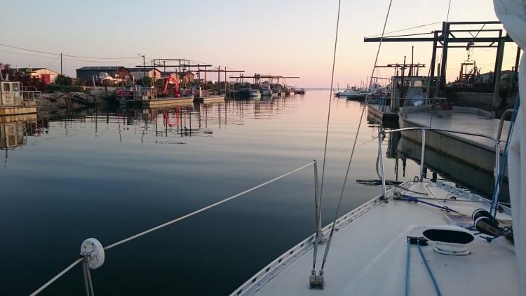 Au fond du port de Meyran