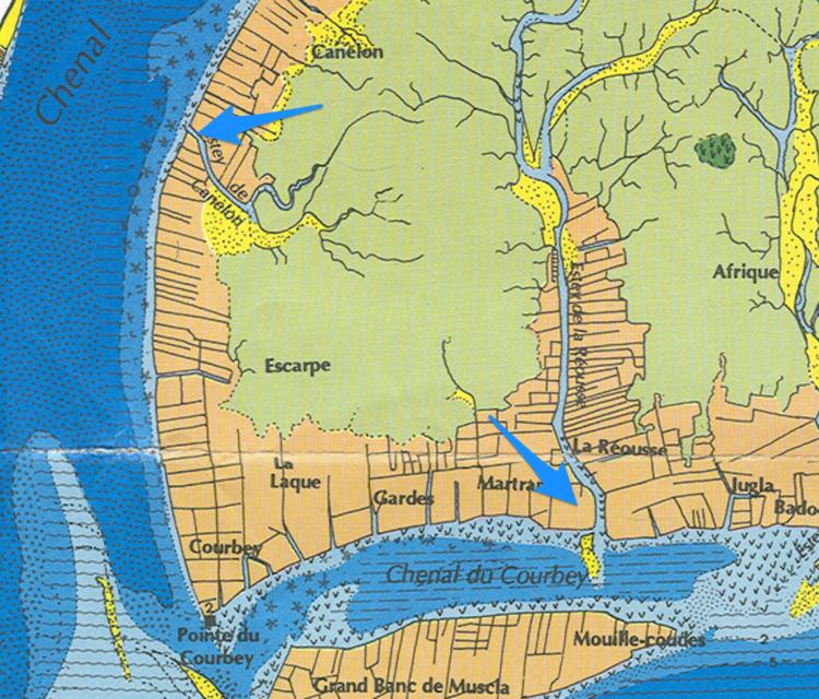 Carte de Jean-Marie Bouchet — la réousse et canelon