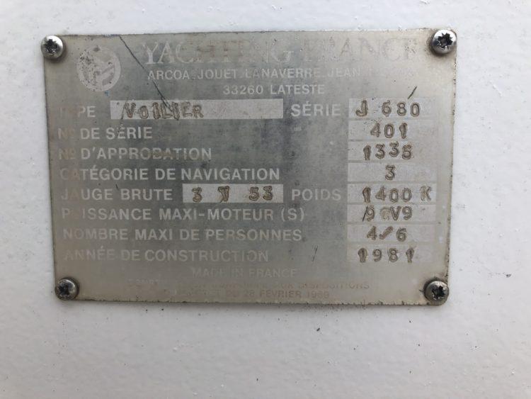 Plaque constructeur jouet 680 paradoxale 401 de 1981