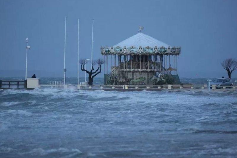 marée du siècle 2015 par Diego Plage