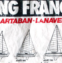 Poche collector gammes Yachting France - élément