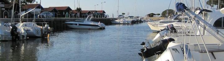 Le port de la Hume à marée haute - photo : Julie M.