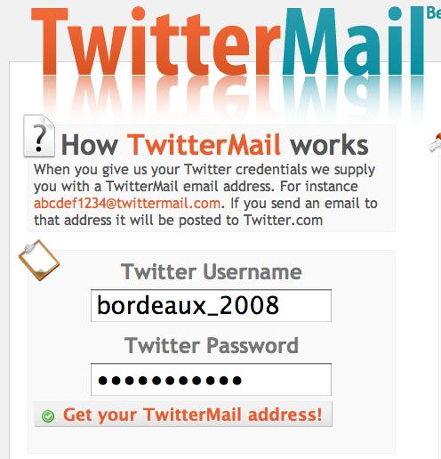 Twittermail