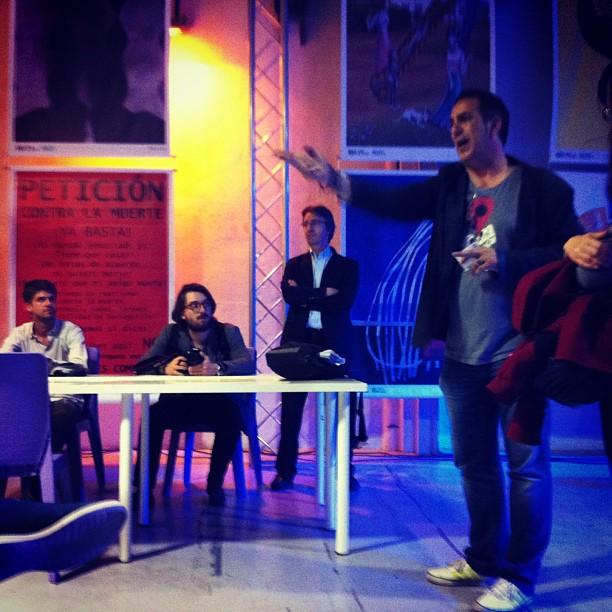 Quand Manu Gomez-Alvarez conclut avec brio et créativité la découverte de son formidable projet @ZAWP à #Bilbao