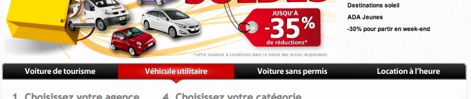 le site Web ADA Location http://www.ada.fr/