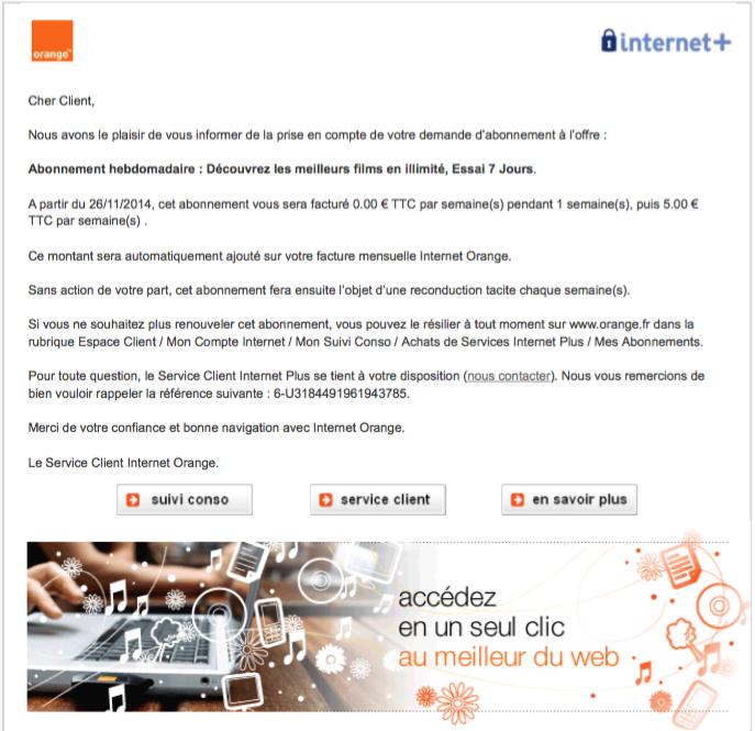 """L'arnaque """"Internet plus"""" chez Orange"""
