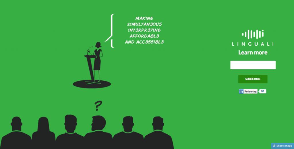 Linguali - Human Interpreting Technologies - le teaser animé, par Magali Samacher
