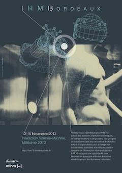 L'affiche de IHM '13