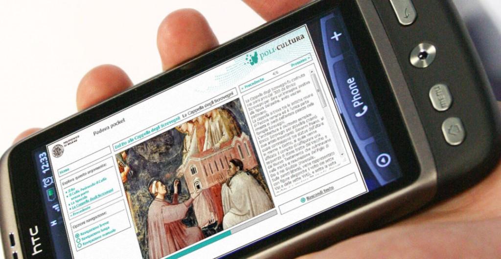 A multimedia story on smartphone - PoliCultura Portal
