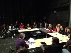 La 2e réunion de l'équipe TEDxBordeaux 2012, au TnBA - photo Alexis Monville
